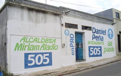 En Sauce Alcaldesa Mirian Aladio - Alianza Nacional